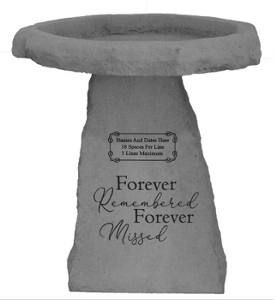 Bird Bath - Personalized