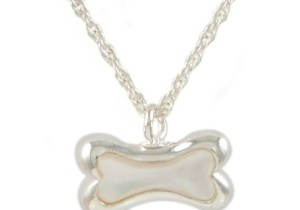 Bone With Mother of Pearl Pendant
