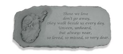 Garden Bench - Angel Bench w/ Those we love