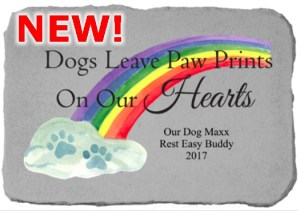Rainbow Tablet – Dogs Leave Paw Prints