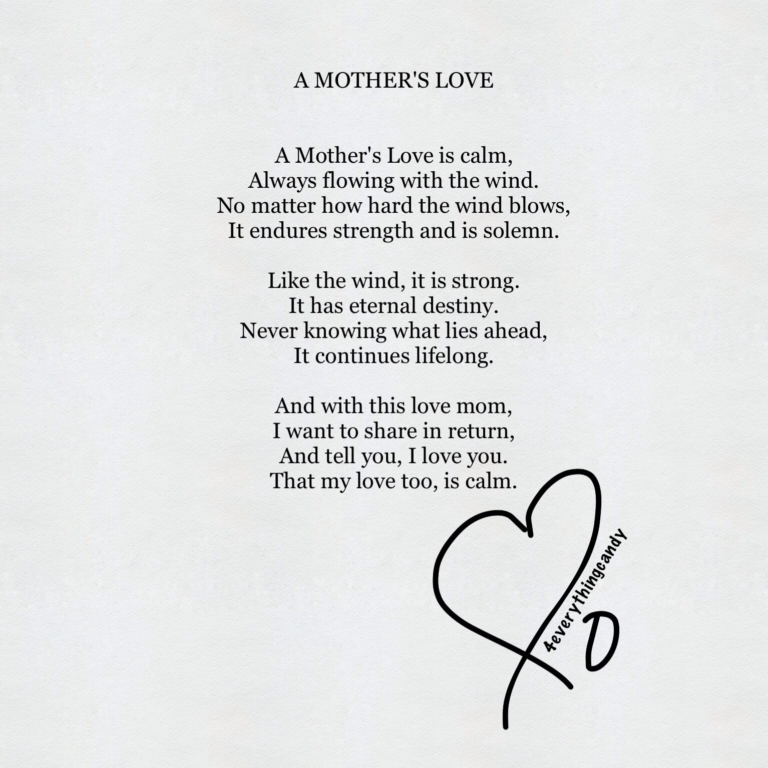 A Mother's Love | 4everythingcandy