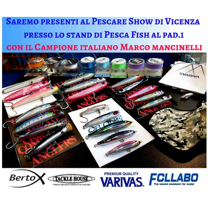 Ti aspettiamo alla Fiera Pescare show Vicenza 2019