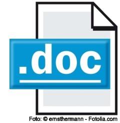 Lebenslauf in Word oder PDF?