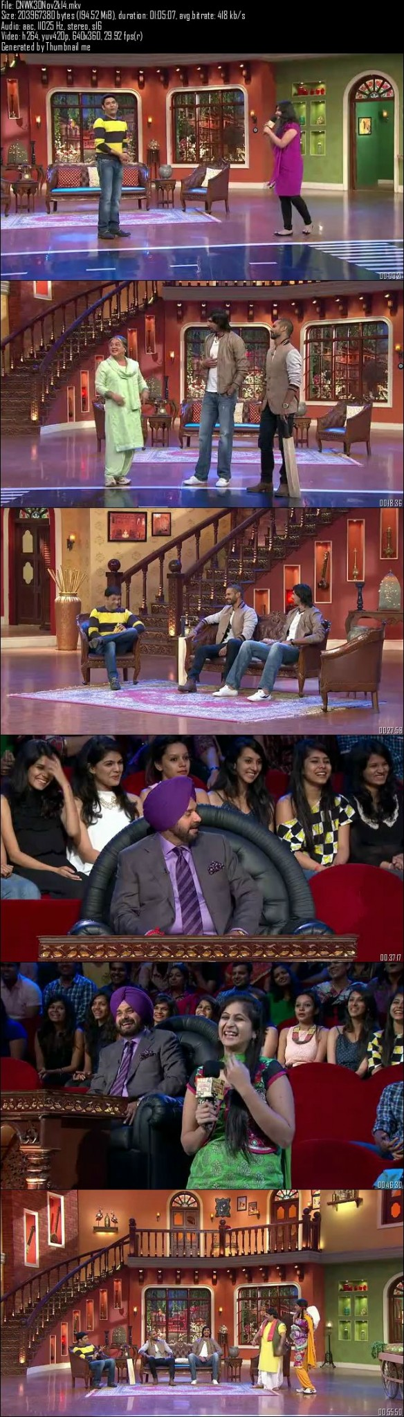 Comedy Nights With Kapil 30th November (2014)