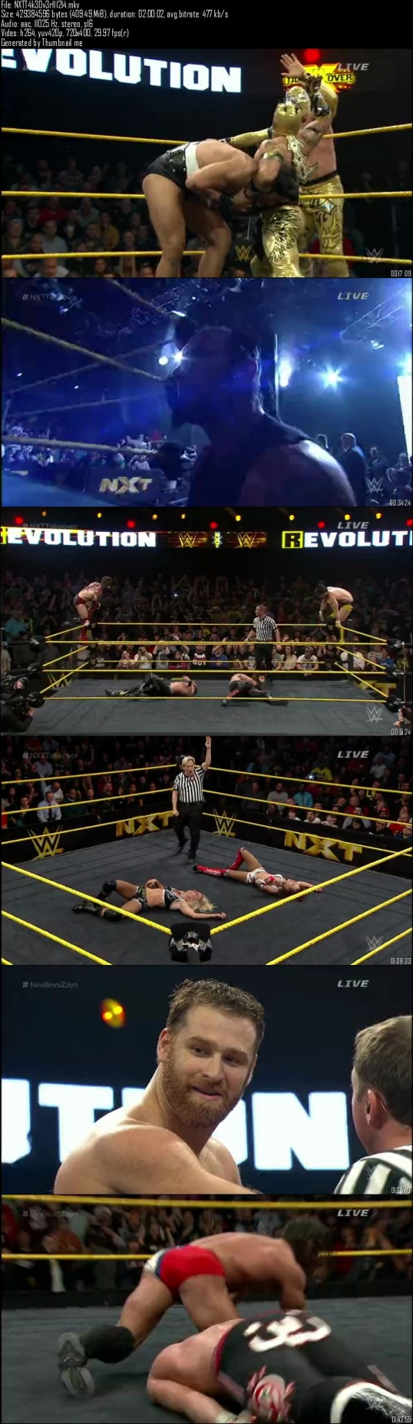 WWE NXT Takeover R-Evolution 11th December (2014)