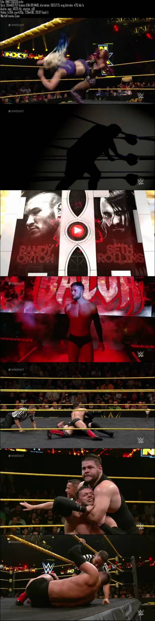WWE NXT 25th March (2015)