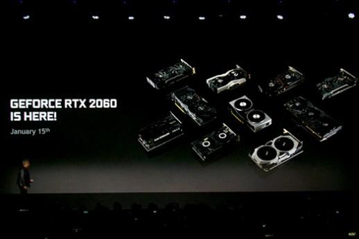 画像(005)「GeForce RTX 2060」発表。搭載カードは349ドルで1月15日発売予定