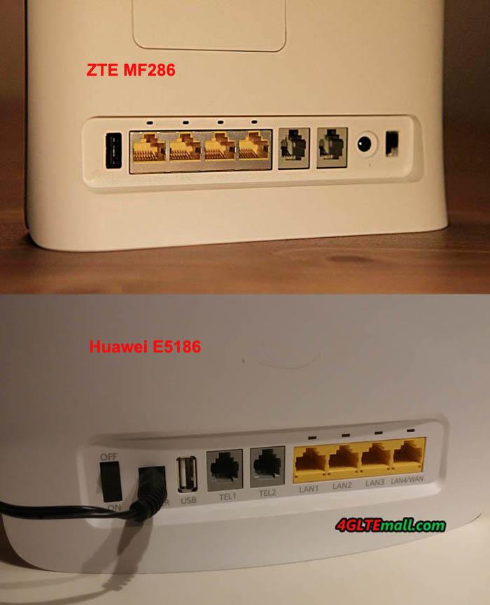 huawei-e5186-vs-zte-mf286-interfaces