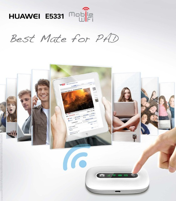 HUAWEI_E5331_Mobile_WiFi_is_the_best_mate_for_PAD_IPAD