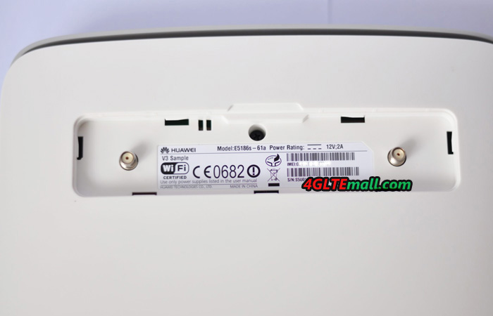 Huawei E5186 External Antenna connector