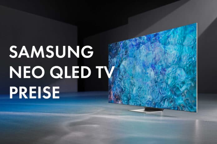 Samsung Switzerland publishes the prices of the 4K & 8K NEO QLED TVs in 2021