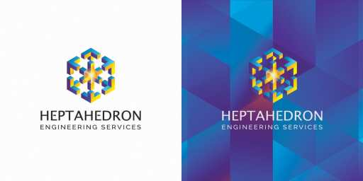 Heptahedron Engineering Services Concept 2 behance