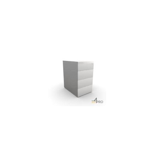 caisson de bureau en metal 4 tiroirs 60 cm de profondeur