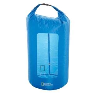Bolsa seca National Geographic de 35L color azul