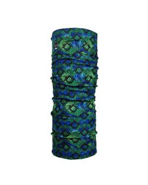 Bandana étnico azul y verde Raju