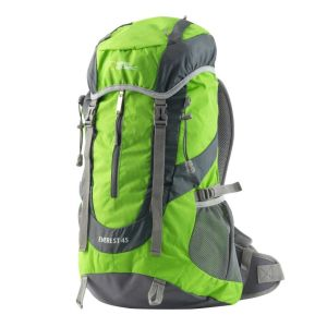 Mochila Everest 45L verde para camping y trekking National Geographic