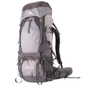 mochila lakewood 60L para mochileros y viajes largos National Geographic