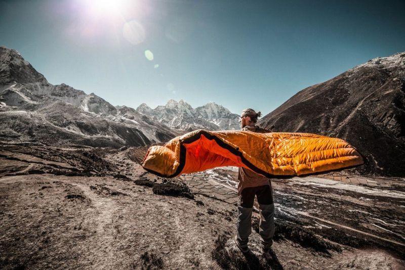 tipos de rellenos de bolsas de dormir y sleeping bags