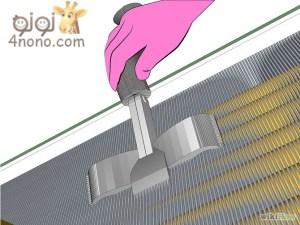 كيفية تنظيف التكييف بمنتهى السهولة بالصور 670px-Clean-Air-Conditioner-Coils-Step-91