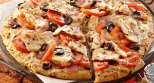 بيتزا الفراخ للشيف نجلاء الشرشابي