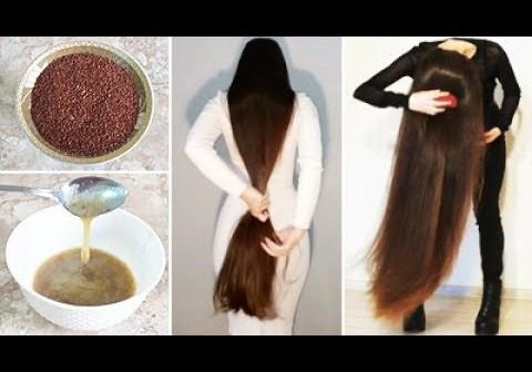 طريقة عمل جل بذور الكتان لتكثيف نمو الشعر وتنعيمه