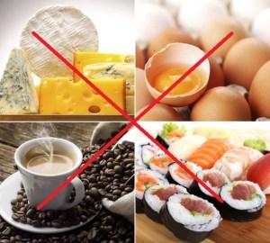 الأطعمة الممنوعة خلال الأشهر الأولى من الحمل لصحتك وصحة جنينك