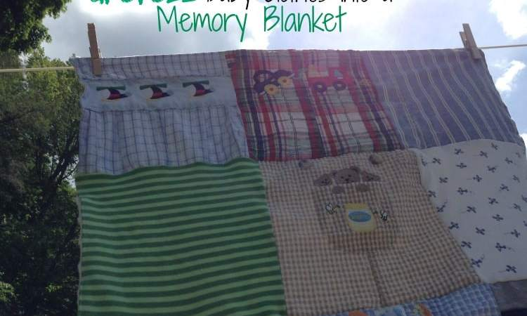 Upcycle Baby Clothes into a Memory Blanket