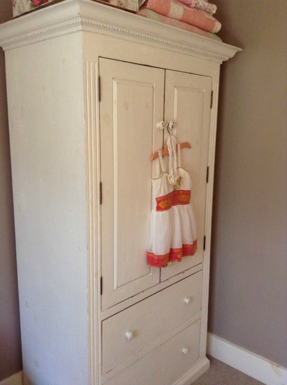 Furniture Up Cycle TV Cabinet To Armoire @4onemore.com