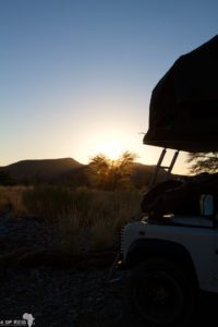 Namibië - Naukluft in the morning