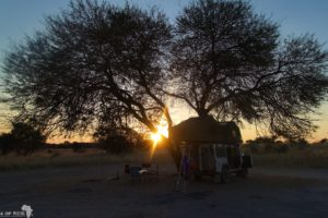 Central Kalahari Game Reserve - Camp near Xade