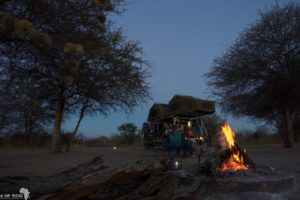 Central Kalahari Game Reserve - Camp @ Leopard Pan