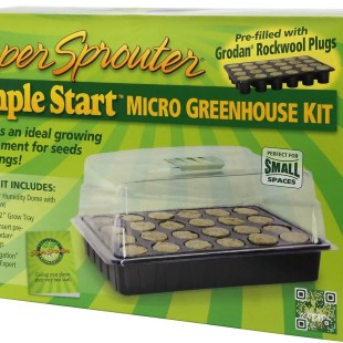 Super Sprouter Micro Greenhouse Kit