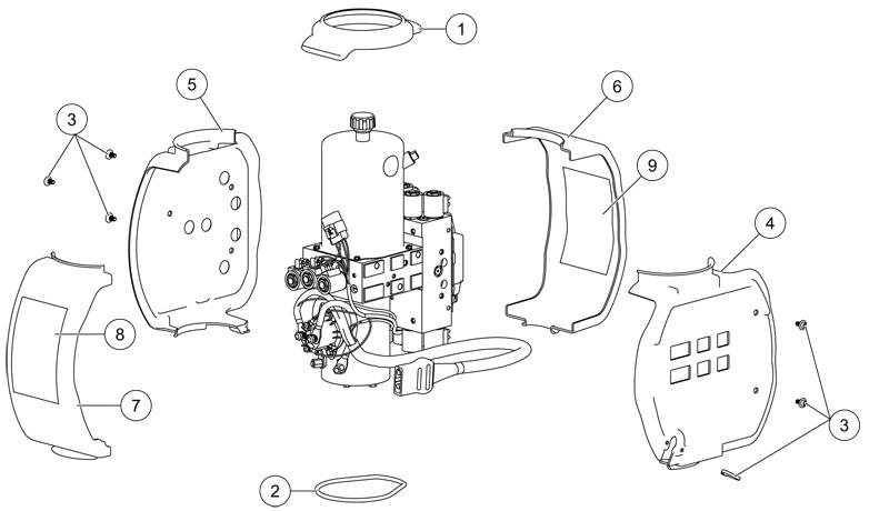 Western Snow Plow Hydraulic Diagram
