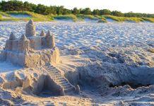 Burg aus Sand