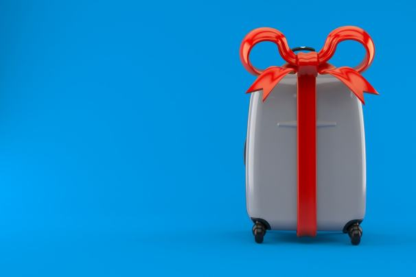 Koffer als Geschenk