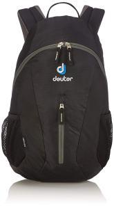 Schwarzer Rucksack von Deuter