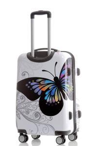 weißer Koffer von BEIBYE
