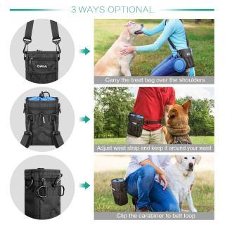 Tragearten Futtertasche für Hunde