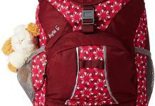 Roter Kinderrucksack von Vaude