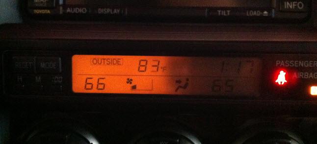 Toyota 4runner Climate Control Light Bulb