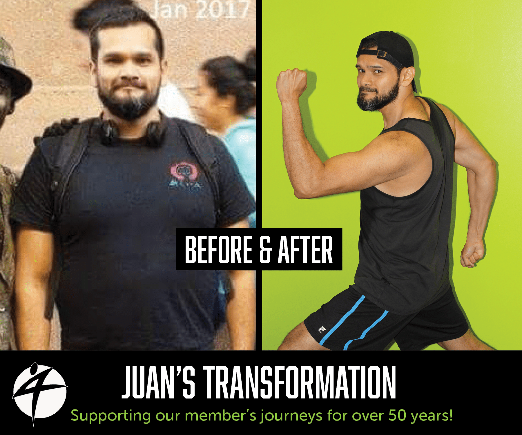 Juan Before and After