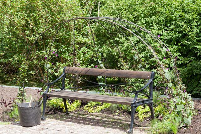 Underbar sittplats i Göteborgs botaniska