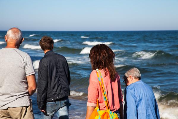 Favoritbild - barnbarn och morföräldrar