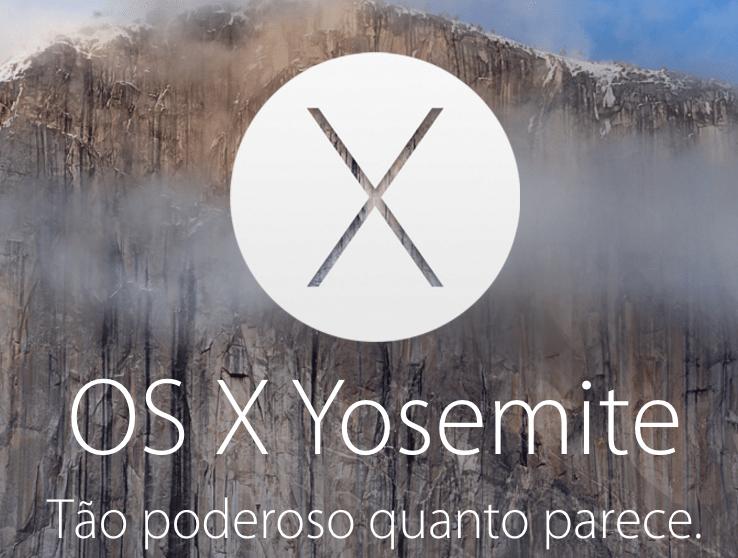 Atualização do OS X Yosemite 10.10.5