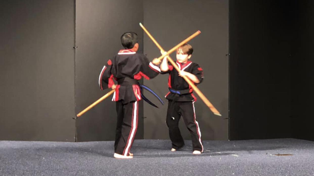 Weapon Training West Coast Martial Arts Academy