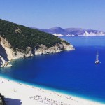 myrtos beach kefalonia eastern mediterranean