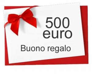 Buono regalo € 500