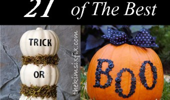 21 Of The Best Non-Carving Pumpkin Decorating Ideas