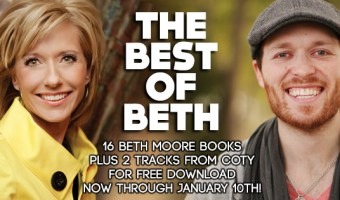 *FREE* 16 Beth Moore eBooks & 2 Coty Sloan Singles