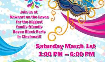 Carnival De Levee Mardi Gras Celebration ~ March 1, 2014